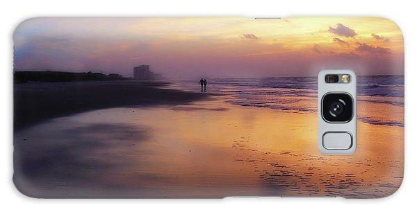 Sunset Walk On Myrtle Beach Galaxy Case