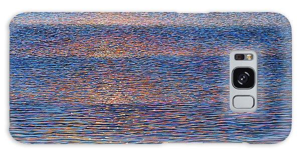 Sunset Waves Galaxy Case