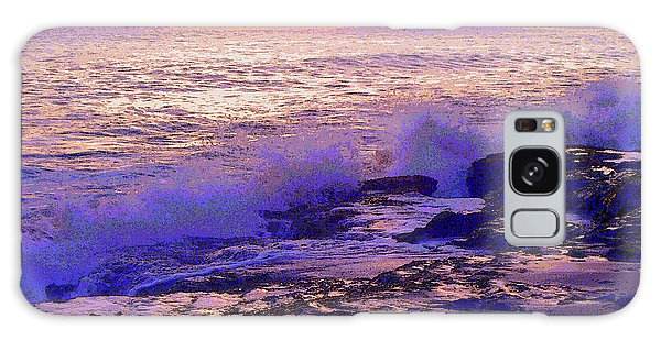 Sunset, West Oahu Galaxy Case