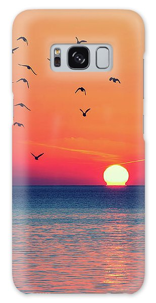 Sunset Wishes Galaxy Case