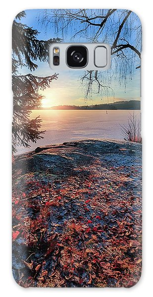 Sunsets Creates Magic Galaxy Case by Rose-Marie Karlsen