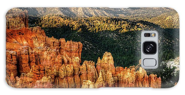 Sunsets In The Canyon Galaxy Case by Rebecca Hiatt