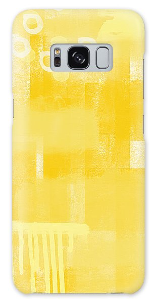 Summer Galaxy Case - Sunshine- Abstract Art by Linda Woods