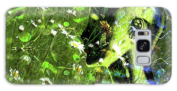 Galaxy Case featuring the photograph Sunshine And Daisies by LemonArt Photography