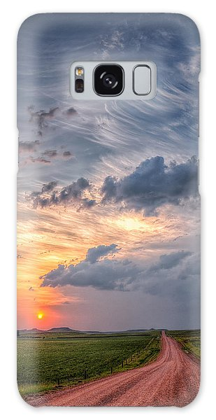 Sunshine And Storm Clouds Galaxy Case