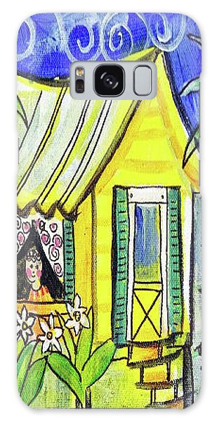 Sunshine Cottage Galaxy Case