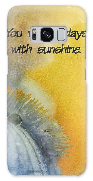 Sunshine Galaxy Case