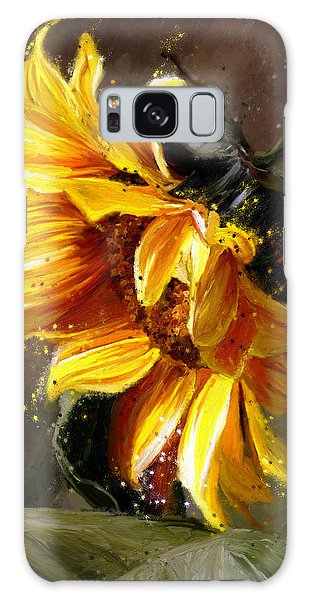 Sunshine Flower Galaxy Case