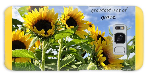 Sunshine Lollipops Grace Galaxy Case by Diane E Berry