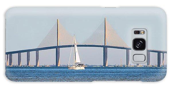 Sunshine Skyway Bridge #2 Galaxy Case