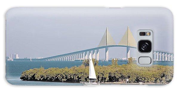 Sunshine Skyway Bridge Galaxy Case