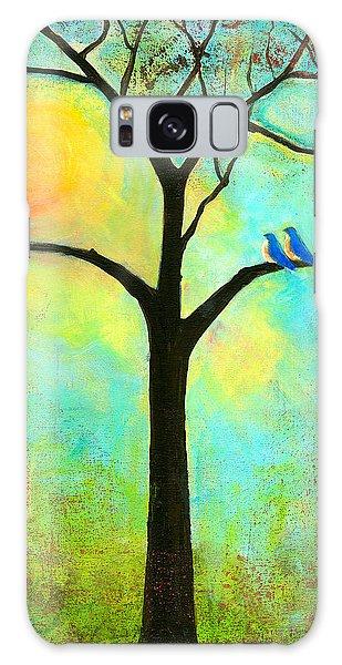 Bluebird Galaxy S8 Case - Sunshine Tree by Blenda Studio