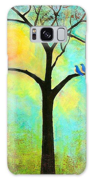 Bluebird Galaxy Case - Sunshine Tree by Blenda Studio