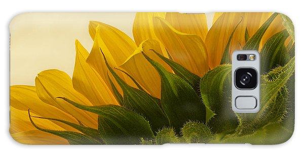 Sunshine Under The Petals Galaxy Case by Sandra Foster