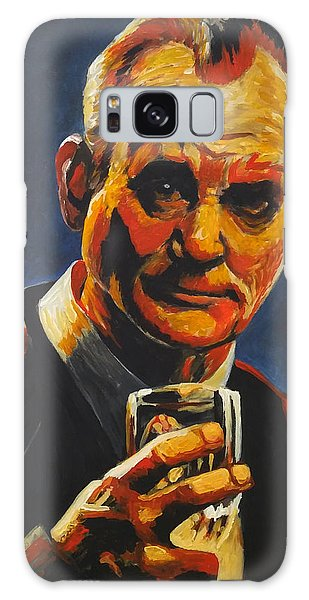 Galaxy Case featuring the painting Suntory Time by Jennifer Hotai