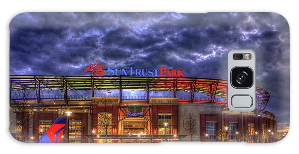 Suntrust Park Unfinished Atlanta Braves Baseball Art Galaxy Case