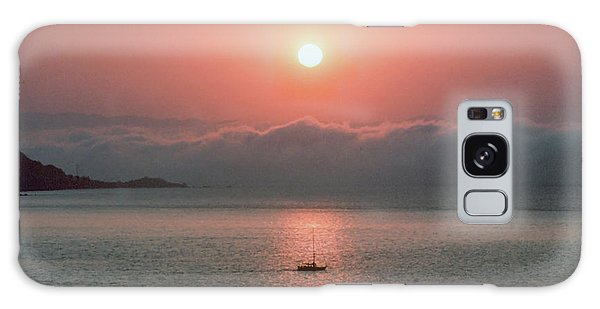 Galaxy Case featuring the photograph Sunup San Francisco Bay by Frank DiMarco