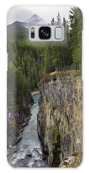 Sunwapta Falls Canyon Galaxy Case