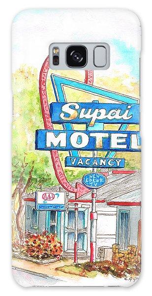 Supai Motel In Route 66, Seliman, Arizona Galaxy Case