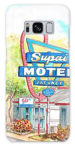 Supai Motel In Route 66, Seliman, Arizona Galaxy Case