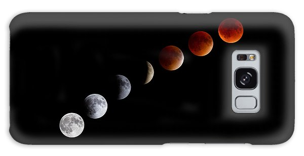 Super Blood Moon Eclipse Galaxy Case by Brian Caldwell