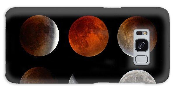 Super Blood Moon Eclipse Galaxy Case
