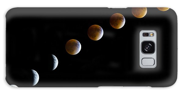 Super Blood Moon Time Lapse Galaxy Case
