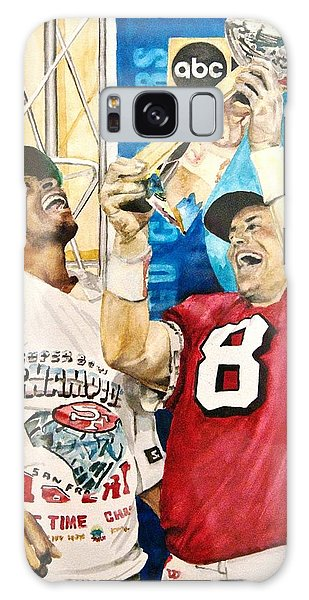 Super Bowl Legends Galaxy Case by Lance Gebhardt