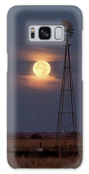Super Moon And Windmill Galaxy Case