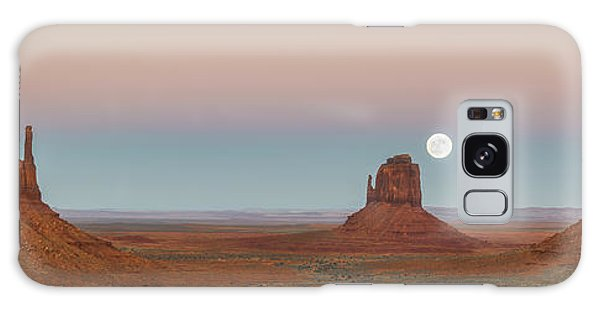 Outdoor Dining Galaxy Case - Super Moon In Monument Valley by Jon Glaser