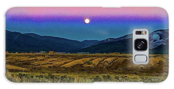 Super Moon Over Taos Galaxy Case