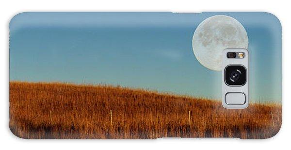 Super Moon Over The Prairie Galaxy Case
