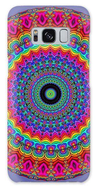 Super Rainbow Mandala Galaxy Case