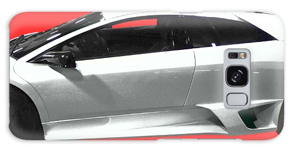 Supercar In White Art Galaxy Case