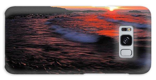 Superior Sunrise 2 Galaxy Case by Larry Ricker