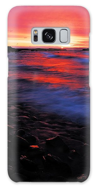 Superior Sunrise Galaxy Case
