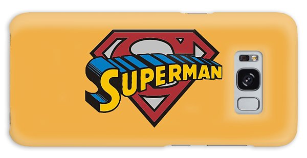Superman T-shirt Galaxy Case by Herb Strobino