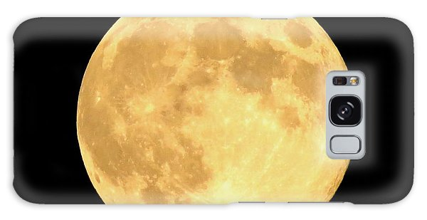 Supermoon Full Moon Galaxy Case by Kyle West