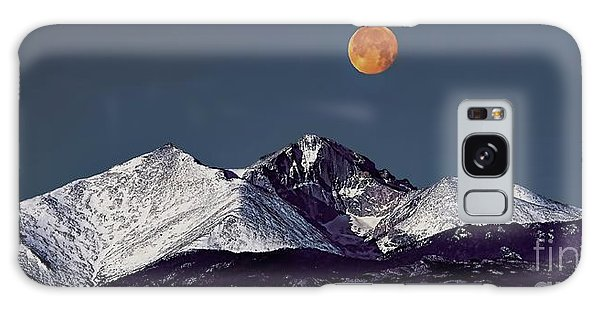 Supermoon Lunar Eclipse Over Longs Peak Galaxy Case