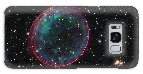 Supernova Bubble Resembles Holiday Ornament Galaxy Case