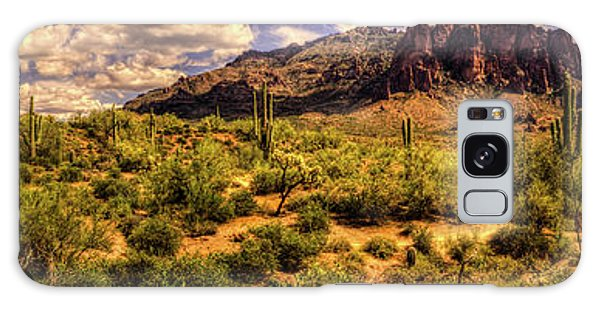 Superstition Mountain And Wilderness Galaxy Case