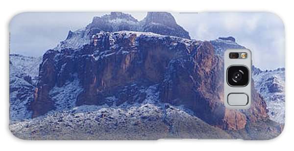 Superstition Mountain Snowfall Galaxy Case