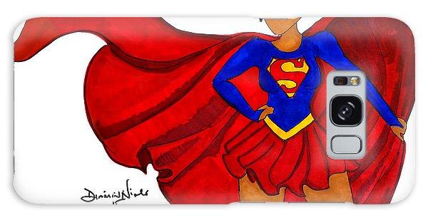 Superhero Galaxy Case - Superwoman I Am  by Diamin Nicole