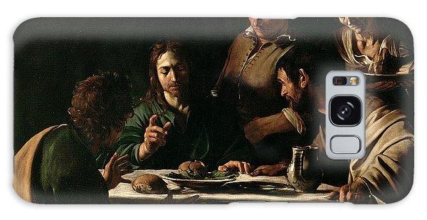 Religious Galaxy Case - Supper At Emmaus by Michelangelo Merisi da Caravaggio