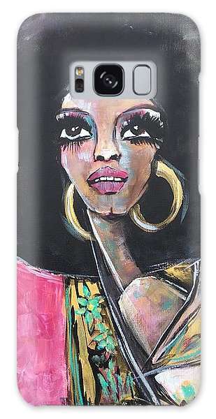 Galaxy Case featuring the painting Supreme Love For Diana Ross by Laurie Maves ART