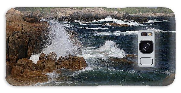 Surf At Biddeford Pool Galaxy Case