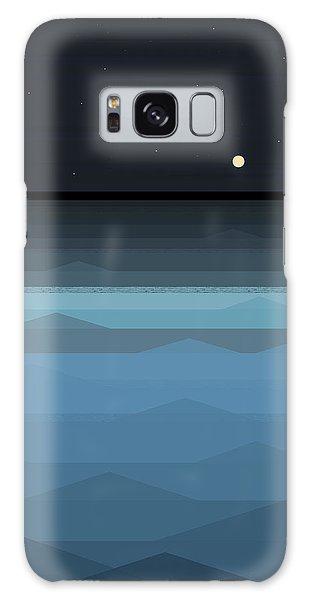 Surf At Night Galaxy Case