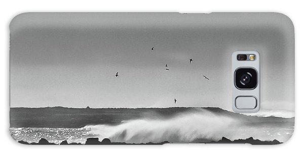 Surf Birds Galaxy Case