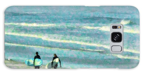 Surf Brothers Galaxy Case by Cheryl Waugh Whitney