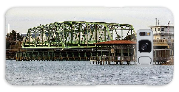 Surf City Swing Bridge Galaxy Case by Cynthia Guinn